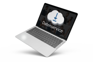 Optionaler datenservice mit Cloud-Upload