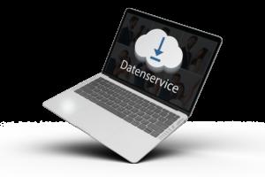 Datenservice mit Cloud-Upload